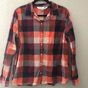 Old Navy Patterned Flannel Classic